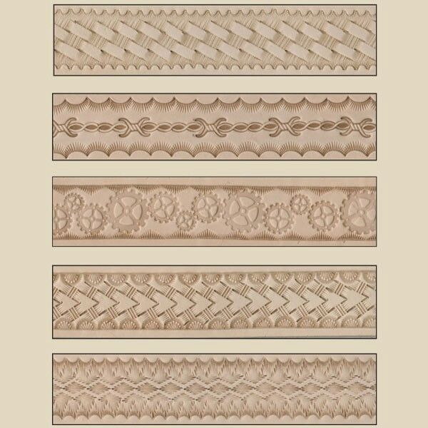 George Hurst Leather Stamping Examples