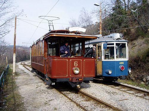 Villa Opicina trams