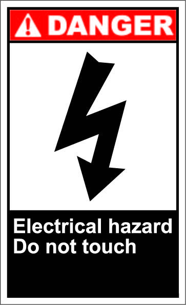 c7cd91aa2090204dd6cc88fcd6140a26 electrical hazard do not touch $1 64 signs signs of my trade live wire safety harness hunting at alyssarenee.co