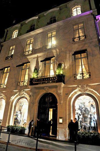 7b10e25fbc54 Le Style Ralph Lauren, la boutique du Boulevard Saint-Germain ...