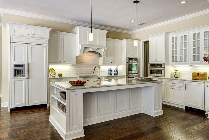 Shiloh Cabinets Polar Maple Beaded Inset Overlay Using Square Flat Panel Door Style Shiloh Cabinetry Kitchen Cabinet Styles Kitchen And Bath Design