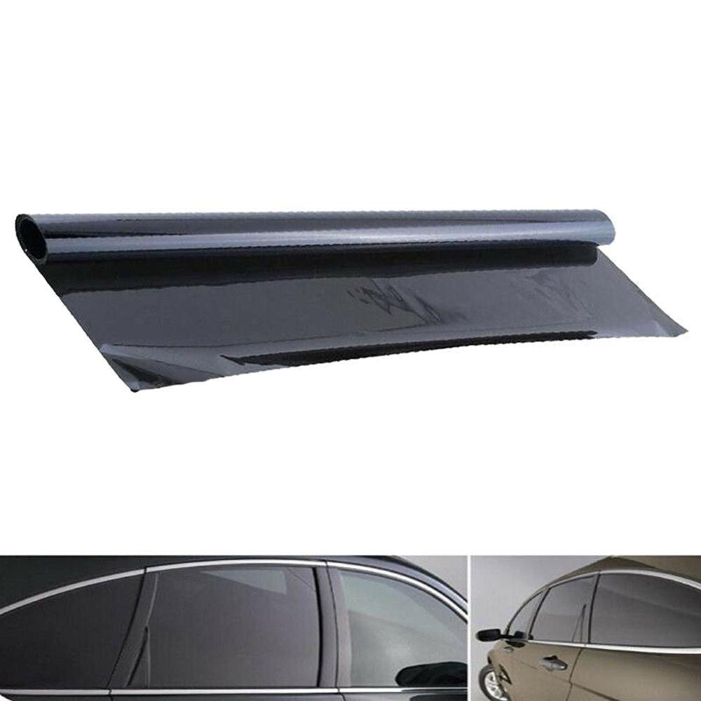 Features 100x50cm High Quality Black Car Window Tint 5 Vlt Sticker Decal Film Scraper 100 Brand New And High Quality Black Car Car Window Rolling Car [ jpg ]