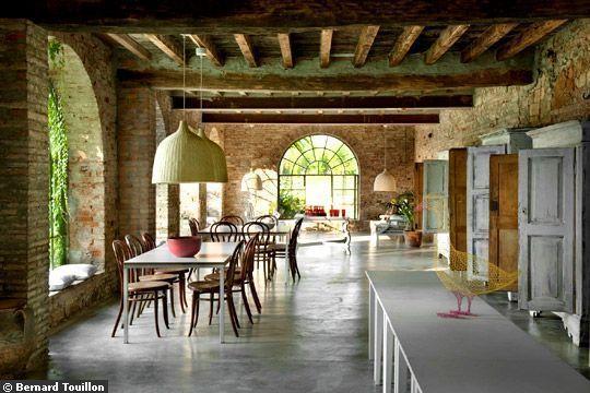 19 id es pour r nover sa maison de campagne a la campagne pinterest maisons de campagne. Black Bedroom Furniture Sets. Home Design Ideas