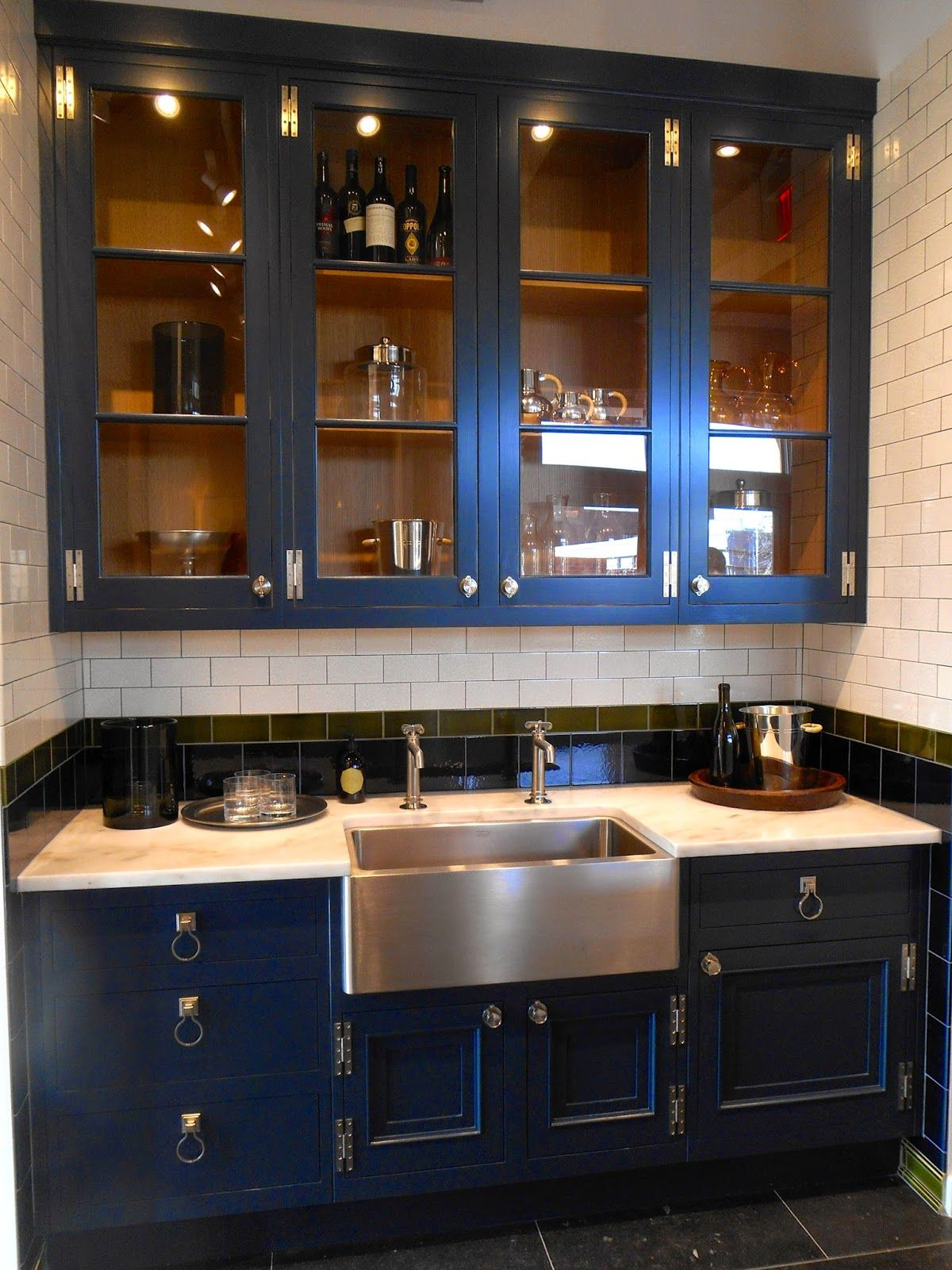 awesome turquoise kitchen cabinets dining | Navy kitchen cabinets | Kitchens | Kitchen Cabinets, Navy ...
