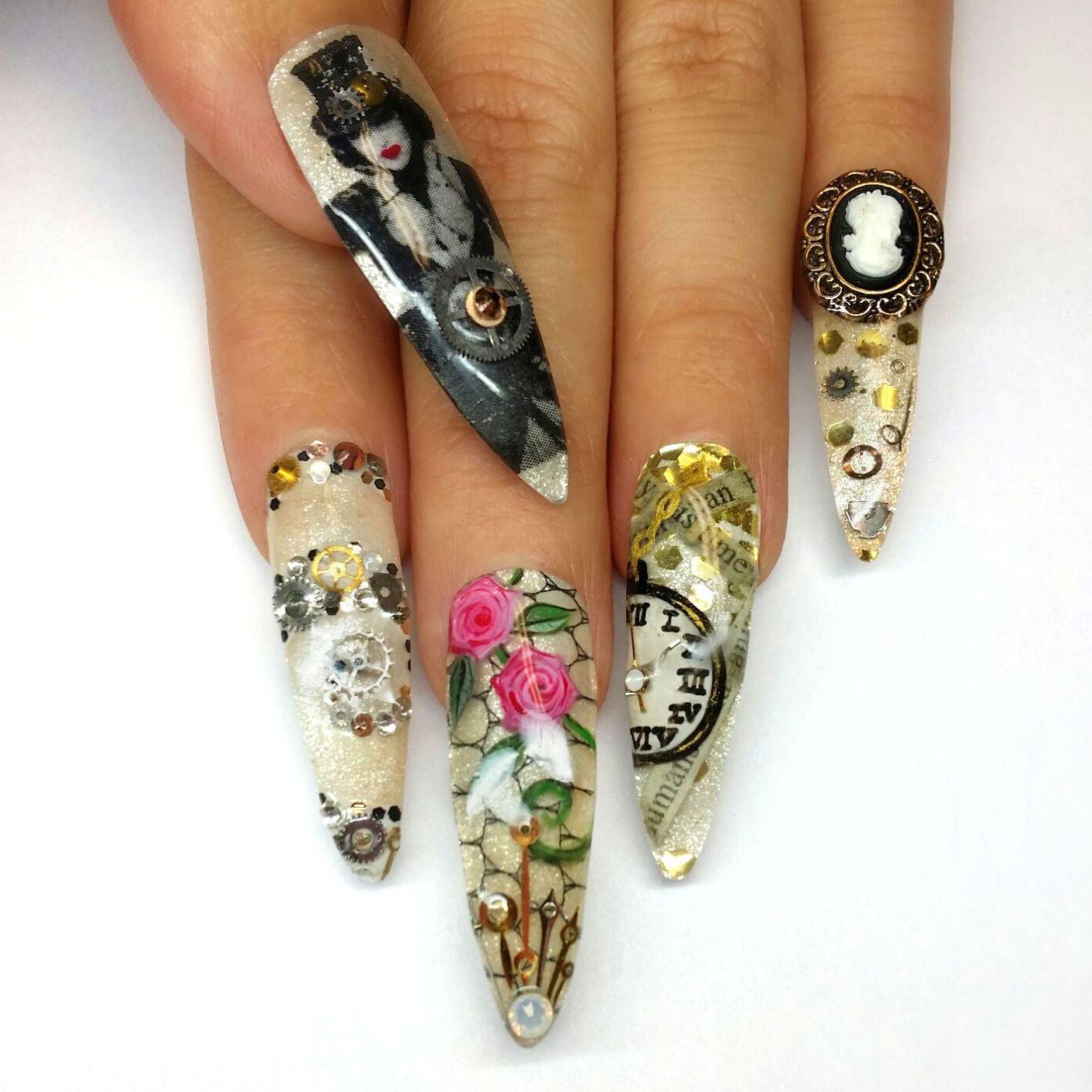 Danielle | Top nail, Nails magazine and Magazines