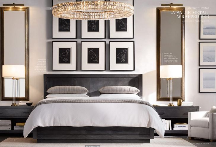 Restoration Hardware 2015. Часть 1. Home BedroomBedroom FurnitureLuxury ...
