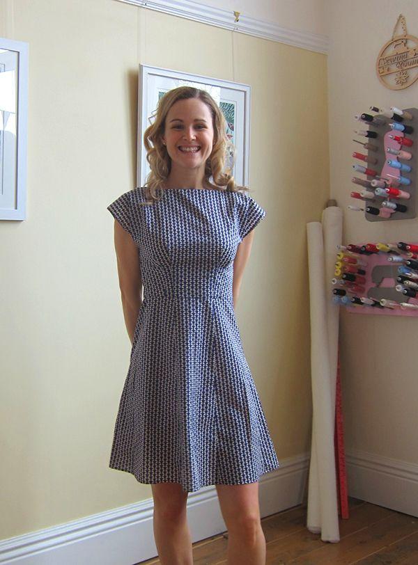 Anna Dress in Liberty Jonathan Tana Lawn | Guthrie & Ghani