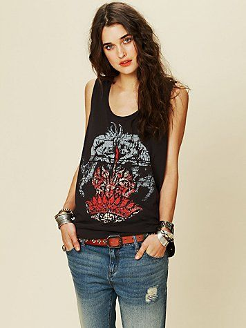 d46d53b2 free people muscle tank graphic - Google Search | California Trip ...