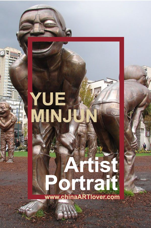 Yue Minjun - Artist Portrait - famous Chinese Artist by China Artlover
