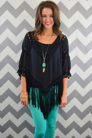Black Sleeved Poncho – The ZigZag Stripe  use code ZZS820 at checkout for 10% off and free shipping! #affordable #fashion #boutique