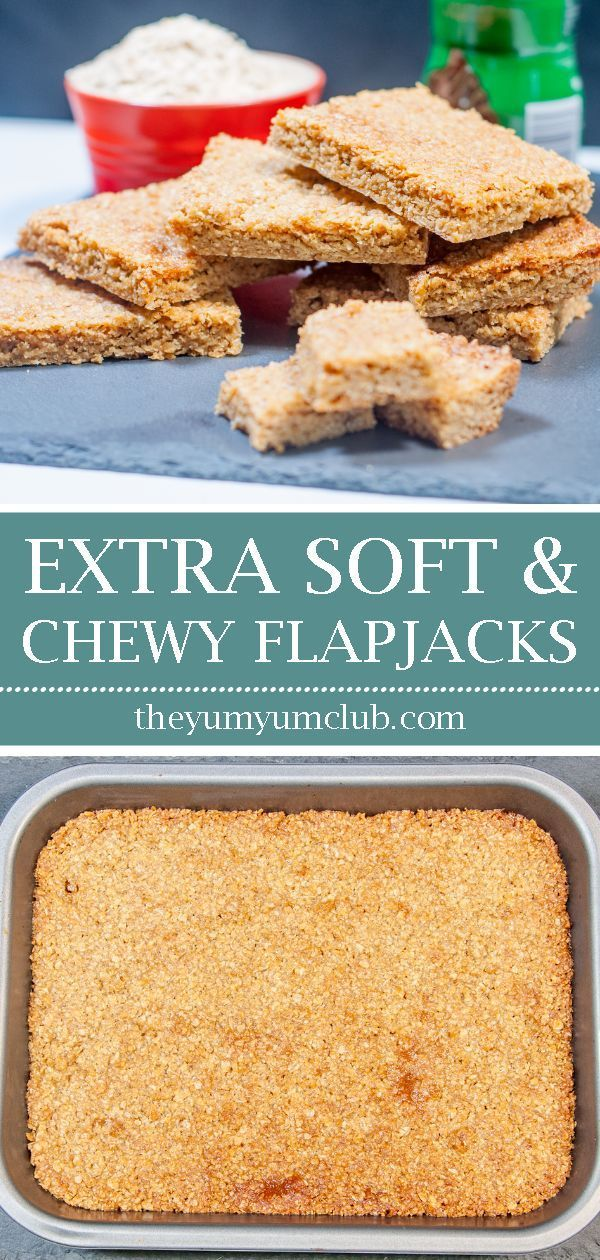 Extra Soft and Chewy Flapjacks images