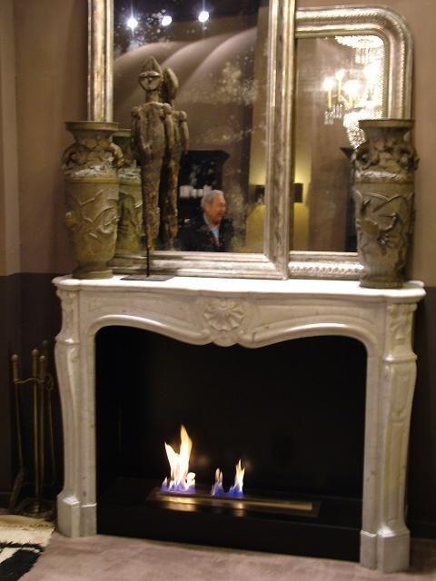 "Cornice francese originale metà '800, stile Luigi XV ""Tris"