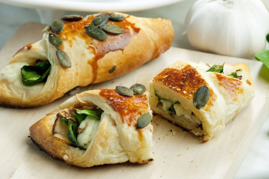 spinat feta taschen rezept brunch pinterest feta fingerfood und spinat. Black Bedroom Furniture Sets. Home Design Ideas