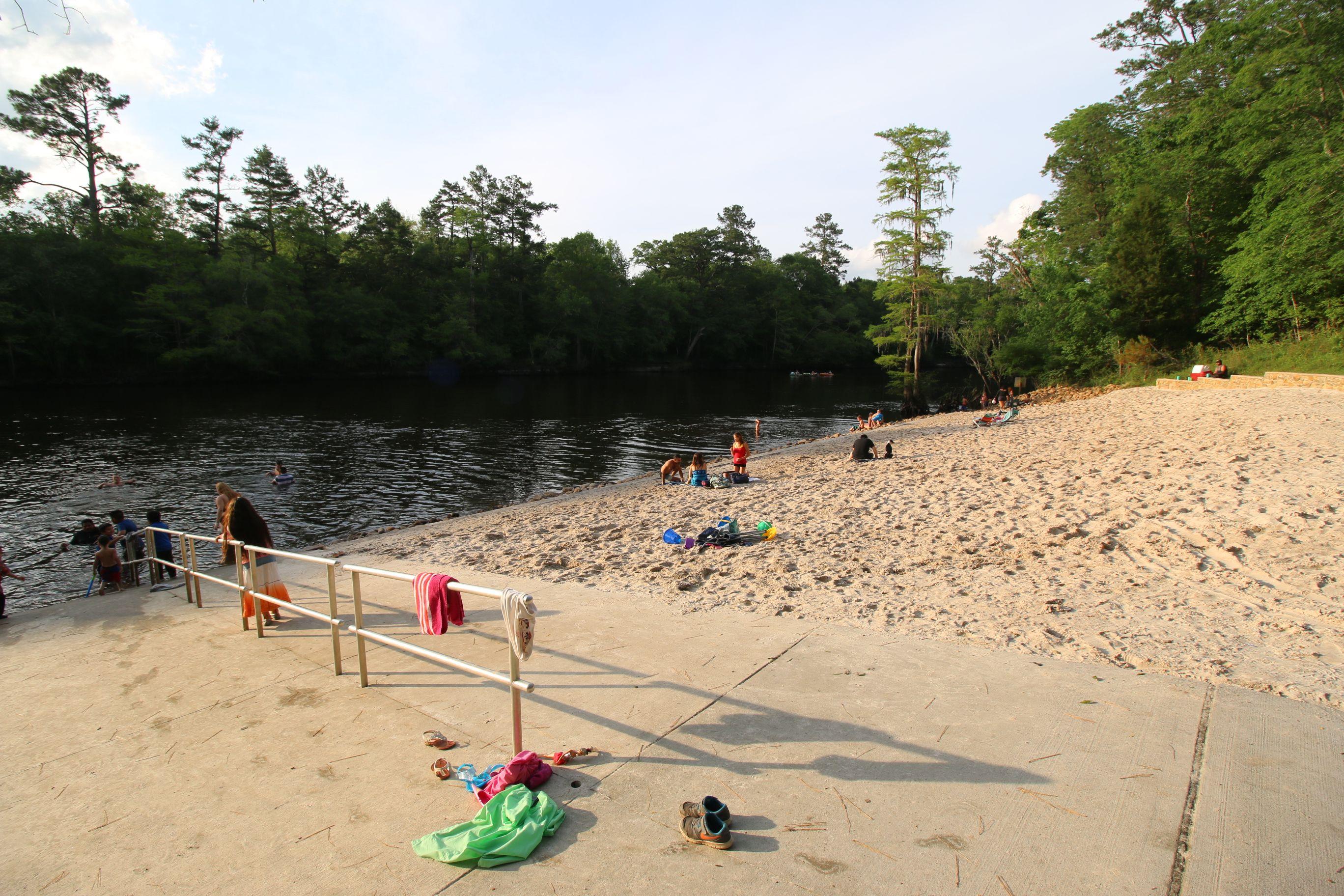 Givhans Ferry State Park Beach