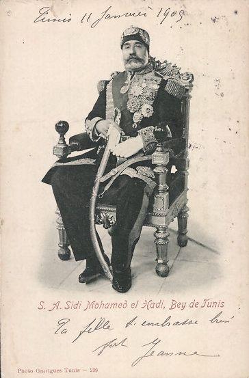 Bey de Tunis, 1904
