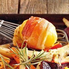 Speck-Raclette-Kartoffeln aus dem Ofen #kartoffelnofen