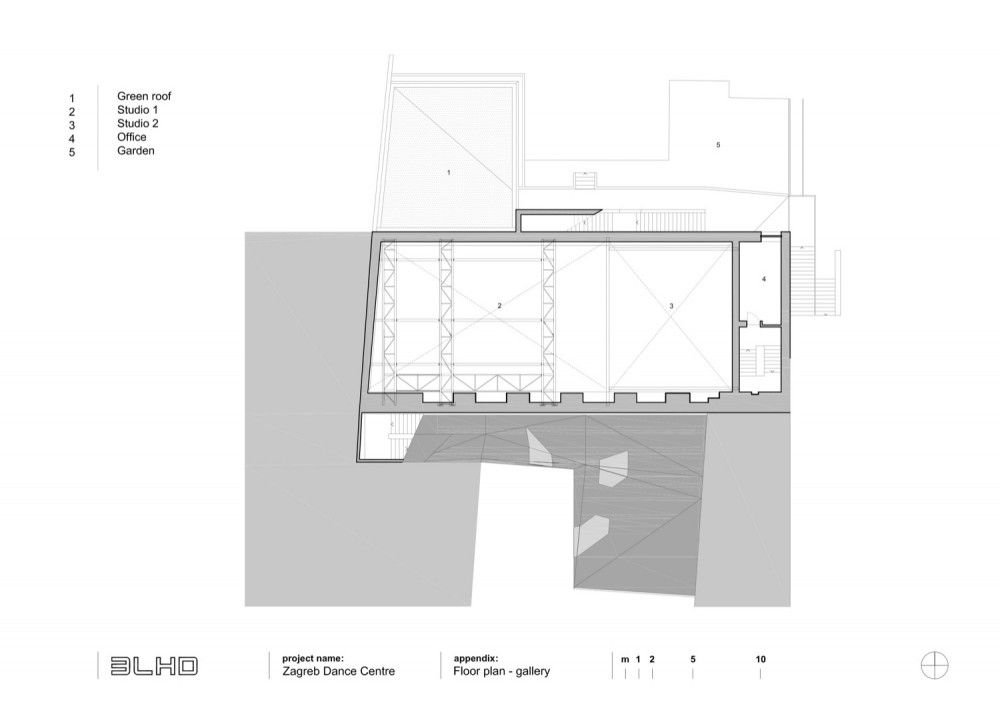 Zagreb Dance Center 3lhd Floor Plans How To Plan Flooring