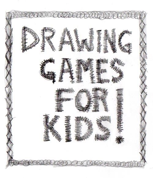 drawing game ideas for kids from artchoocom