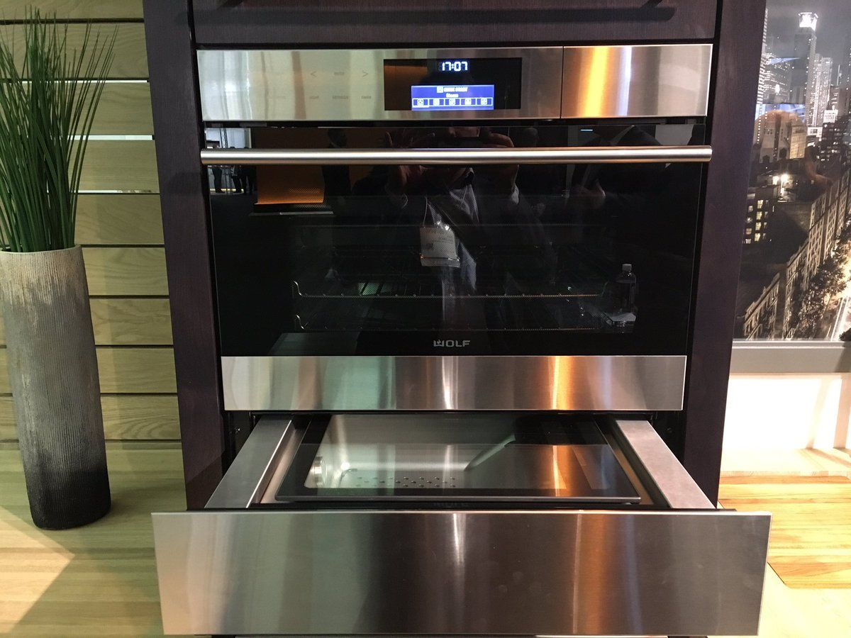 Wolf Steam Oven Amp Vaccuum Drawer Sous Vide Kitchen