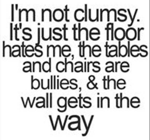 funny quotes about falling down
