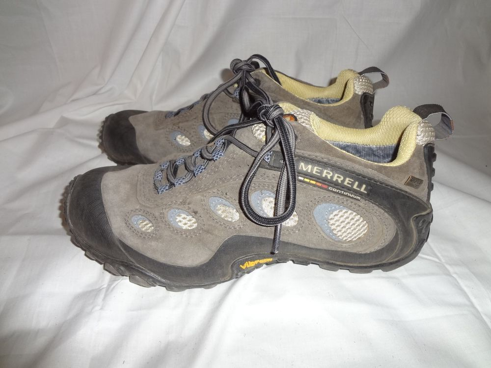 Womens Merrell Chameleon Wrap Gore Tex Xcr Waterproof Hiking Trail Shoes Sz 9 Shoes Trail Shoes Athletic Shoes