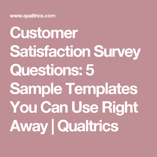 Customer satisfaction survey questions 5 sample templates for Office design survey questions