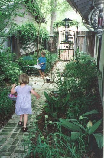 Side Yard Landscaping Narrow Shade