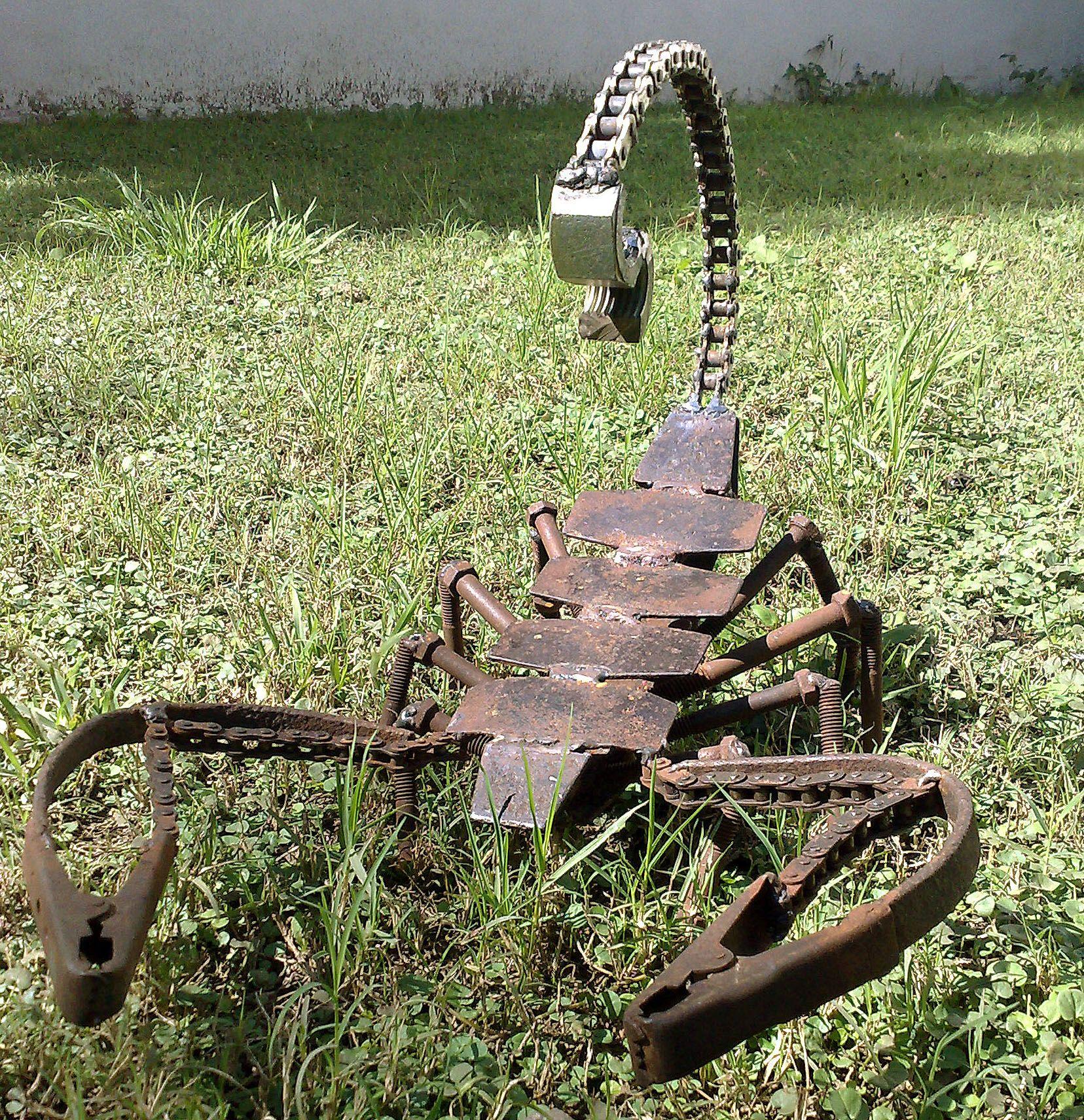 Miller Welding Projects Idea Gallery Scorpion Metal Yard Art Metal Garden Art Welding Art