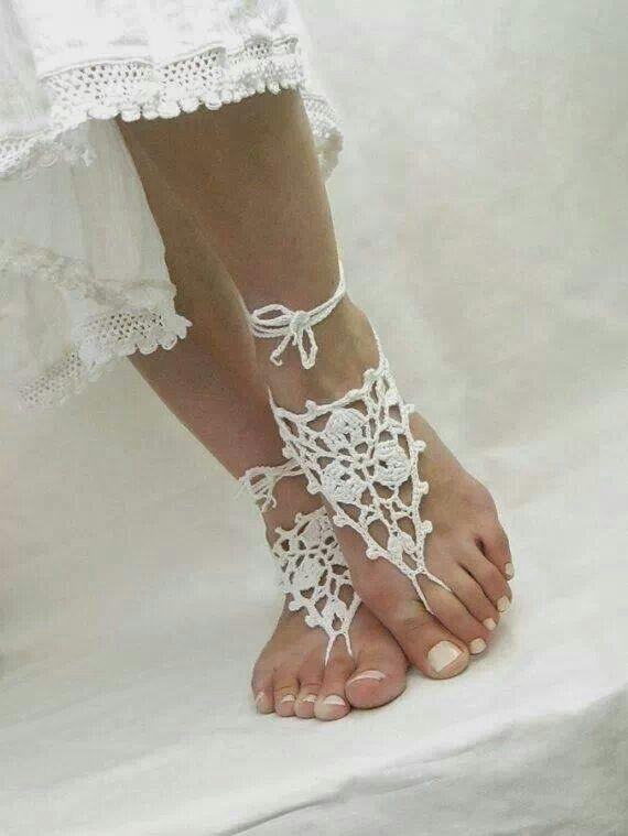 No pé