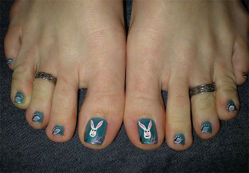 Easter Toe Nail Art Designs - Easter Toe Nail Art Designs Easter Toe Nail Art Designs