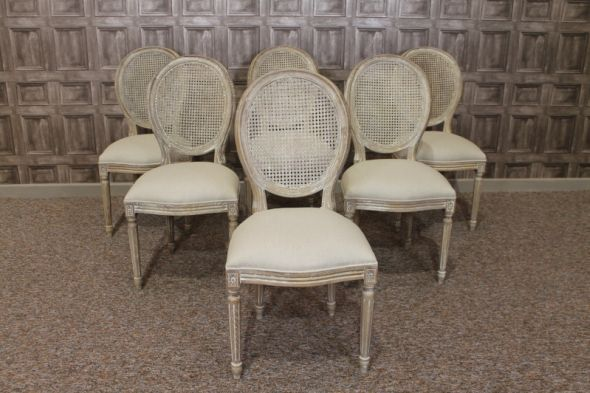Limed Oak Chairs Dining French Cafe Style