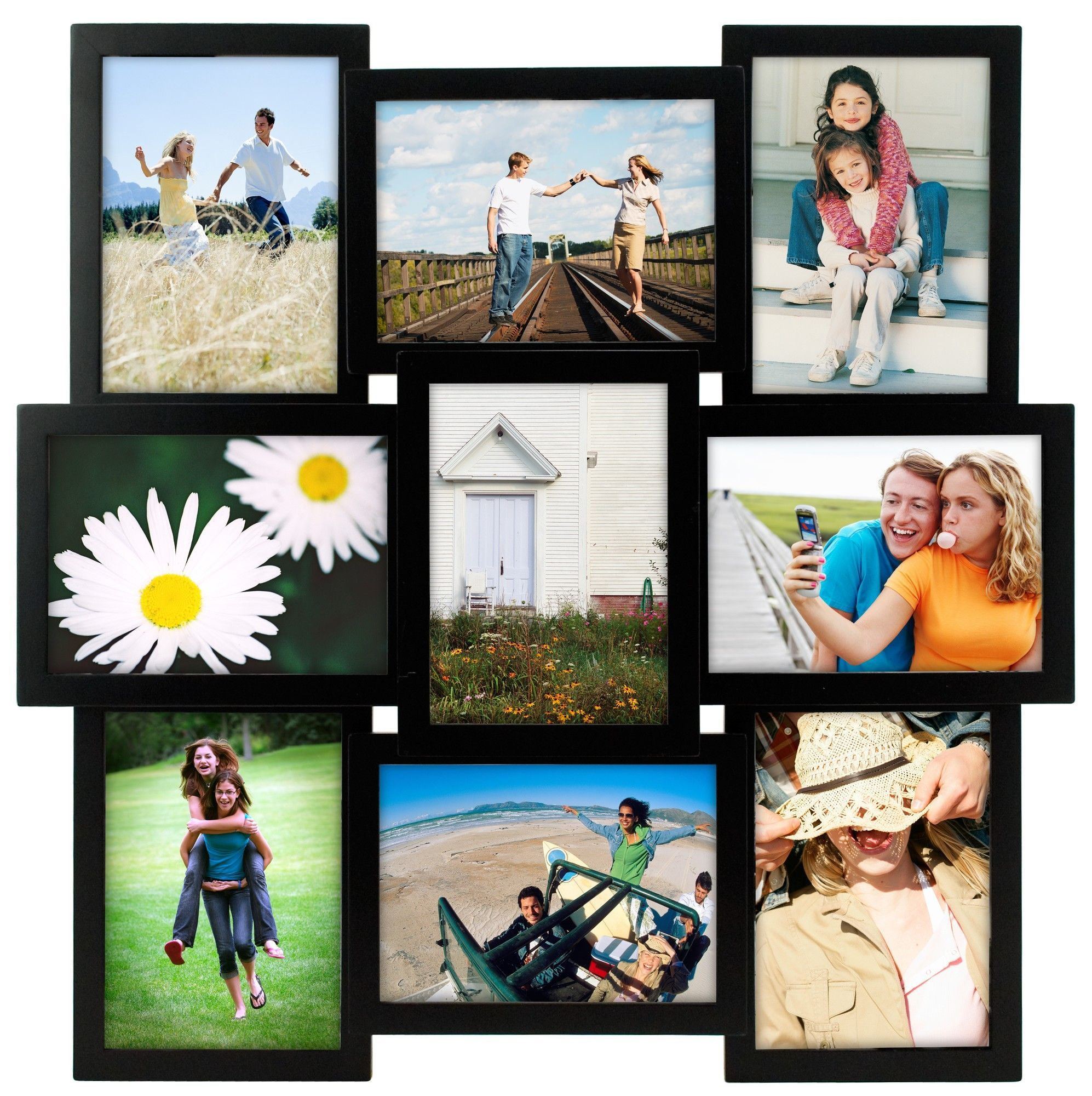 Crossroads 9-Opening Picture Frame | Products | Pinterest | Products