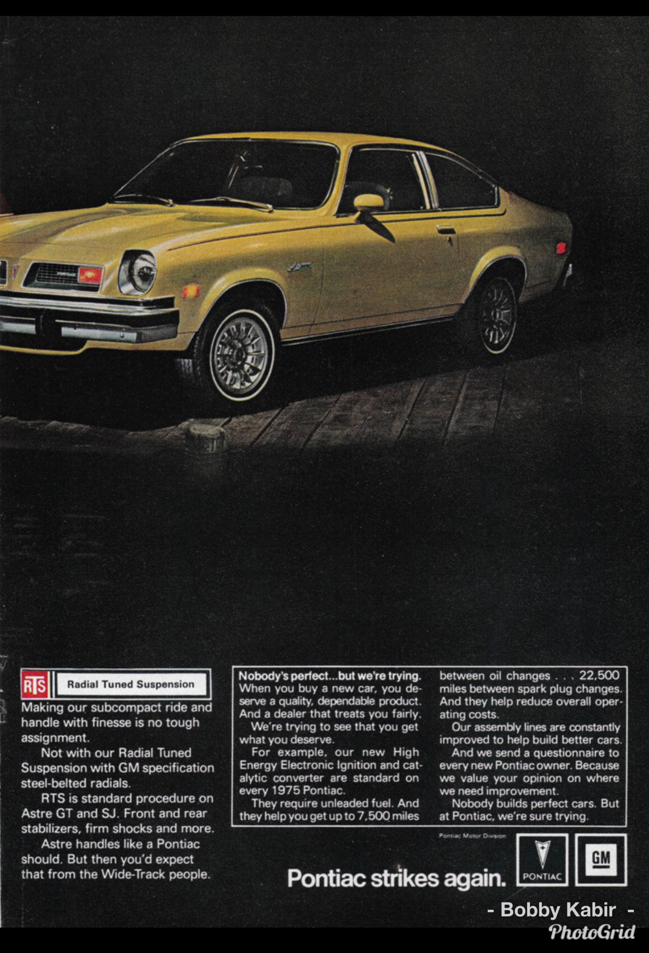1975 Pontiac Astre Page T W O Of Two U S A By Michael On Flickr