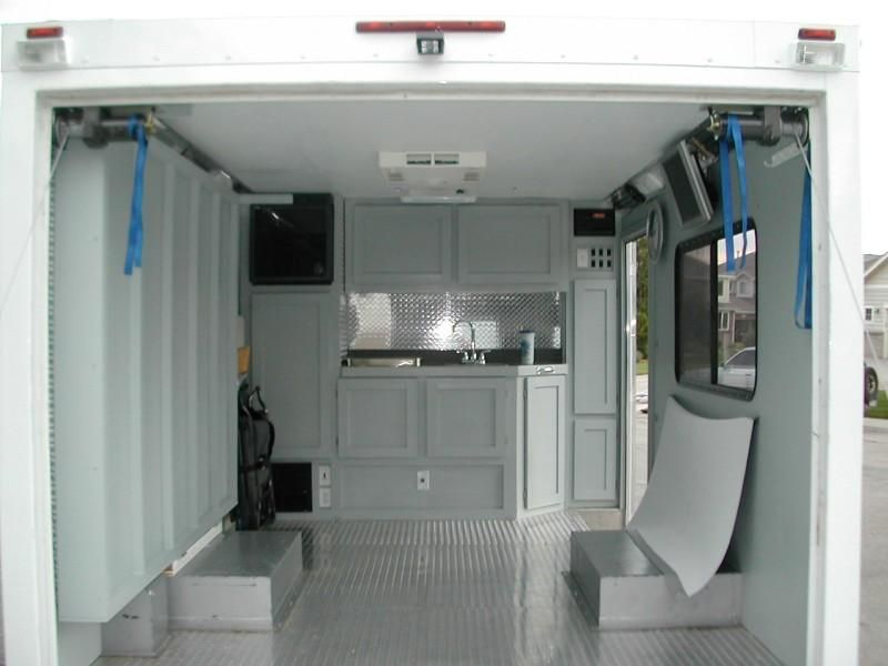 Cool Enclosed Trailer Camper Remodel Renovations Ideas Cargo Trailer Camper