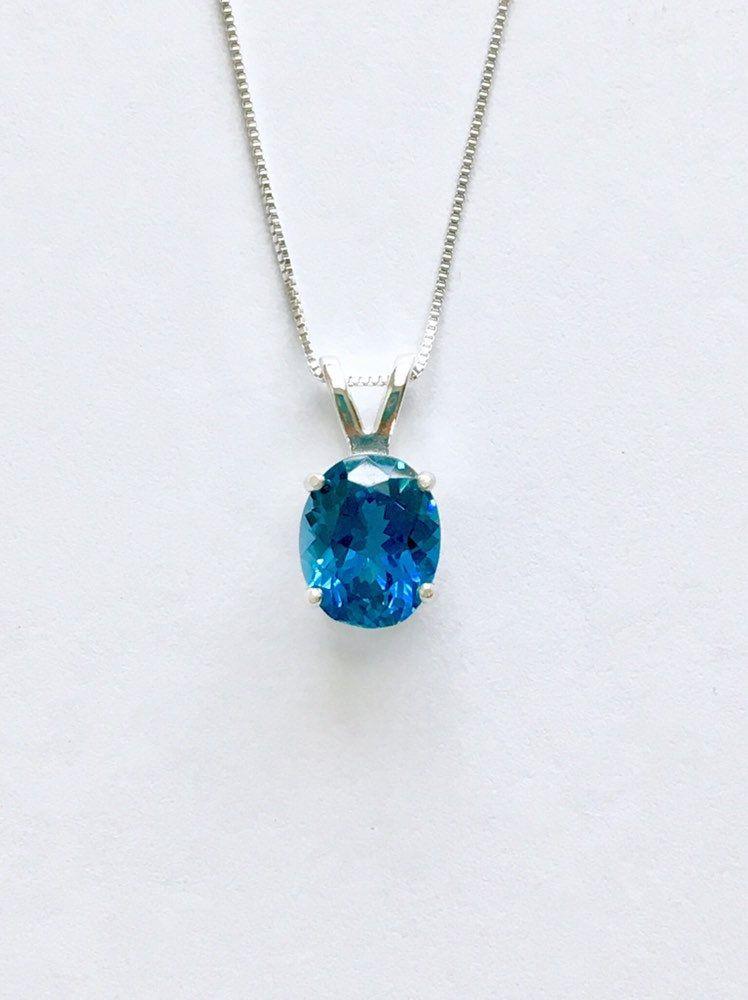 dainty gemstone jewelry mixed gemstone gift for her multi topaz choker December birthstone necklace Genuine london blue topaz necklace
