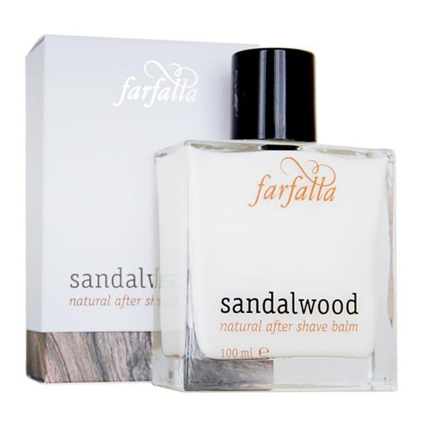Farfalla men Sandalwood Natural After Shave Balm 100 ml: https://www.nordjung.de/farfalla-men-sandalwood-natural-after-shave-balm-100-ml #naturkosmetik #sandalwood #aftershave