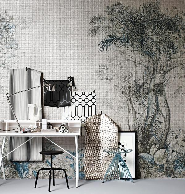 Tapetenmuster Trends Fur Die Wand Schlafzimmer Tapete Tapete Schlafzimmer Tapete Schwarz Weiss