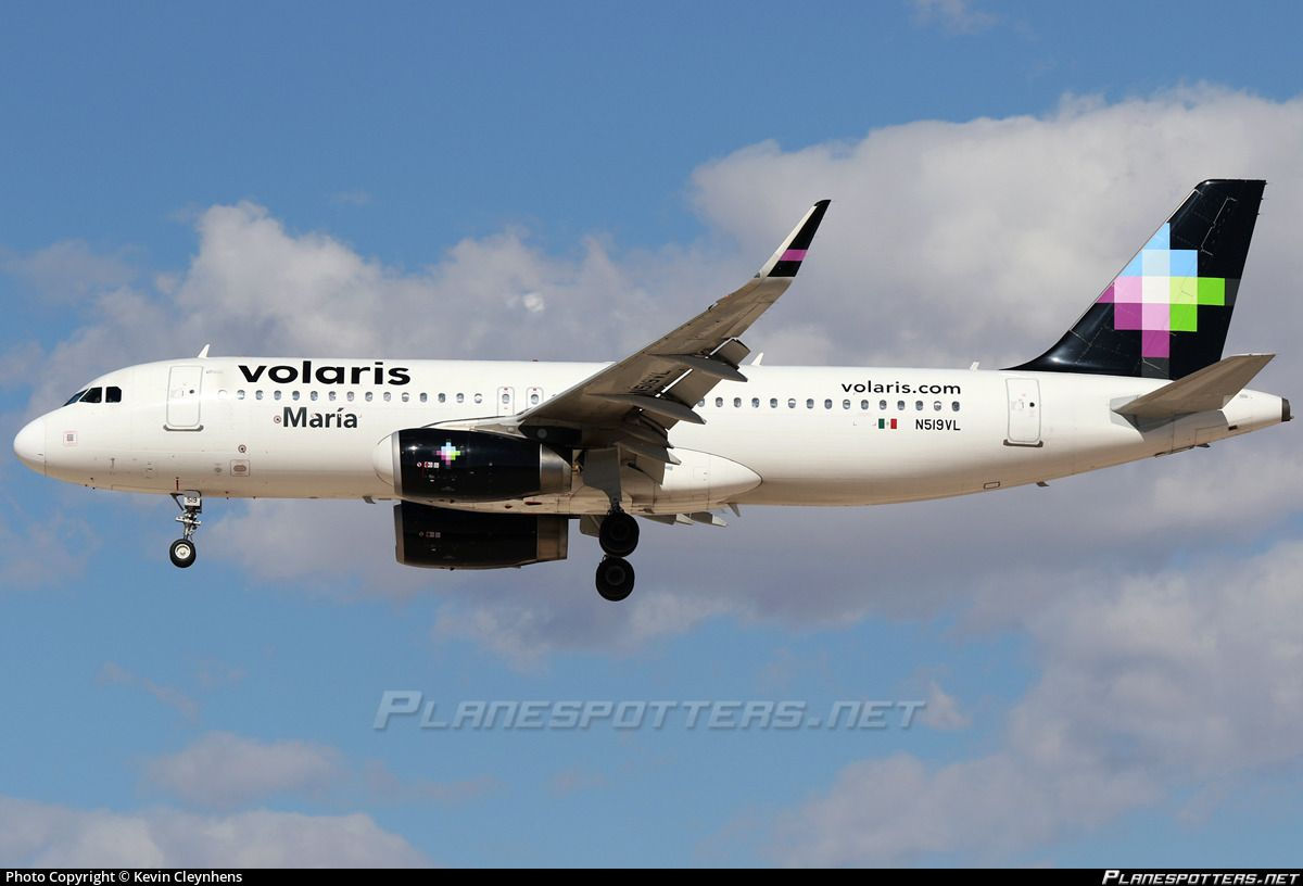 N519vl Airbus Mccarran International Airport Aircraft