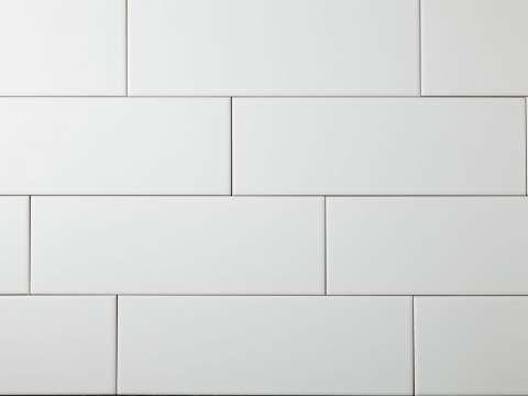 Matt white subway tiles boundless bathroom tiles pinterest - Subway fliesen ...