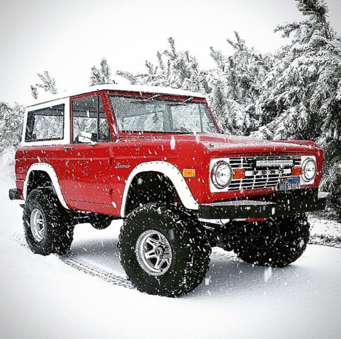 Kickass #Ford Bronco | Classic ford broncos, Ford bronco ...