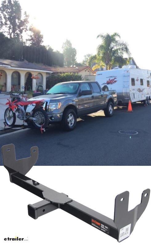 Curt Front Mount Trailer Hitch Receiver Custom Fit 2