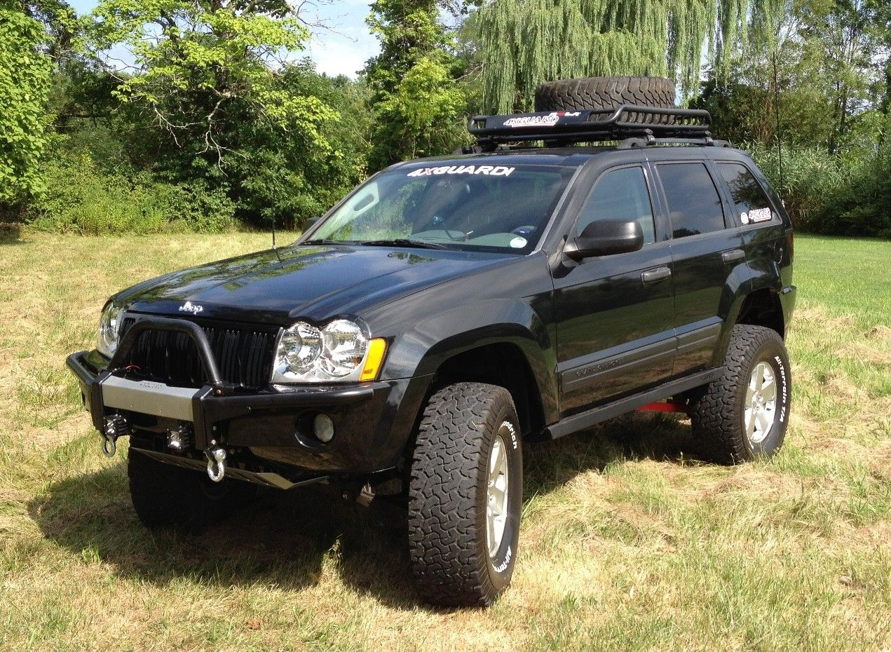 Lifted Jeep Commander Jeep Grand Cherokee Wk With 6 Upgrade