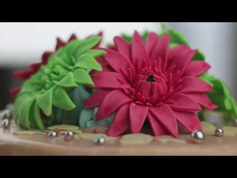 Youtube Fondant Flowers Fondant Fondant Tutorial