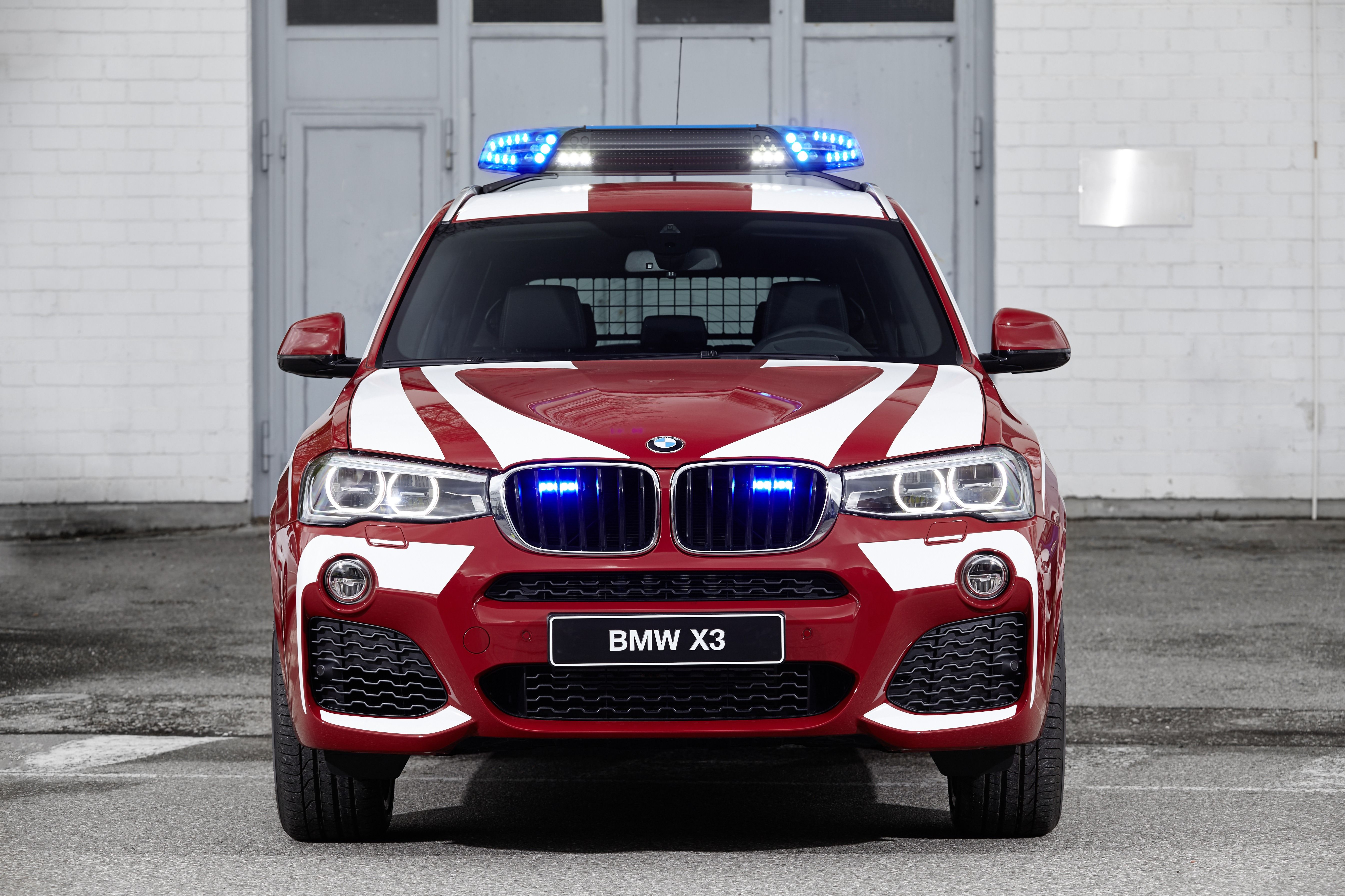 bmw x3 xdrive20d as fire service command vehicle