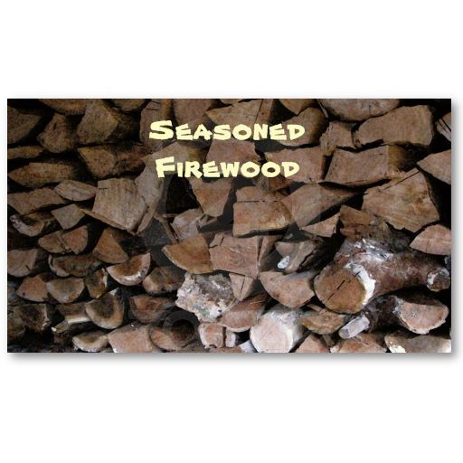 Firewood Business Card Zazzle Com Pack Of Cards Printing Double Sided Business Card Texture