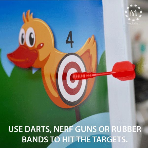 There's something uniquely engaging about a target shoot. My latest game was designed to keep kids excited and entertained in Sharing Time, Singing Time or Clas