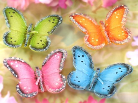 butterfly candles (floating)