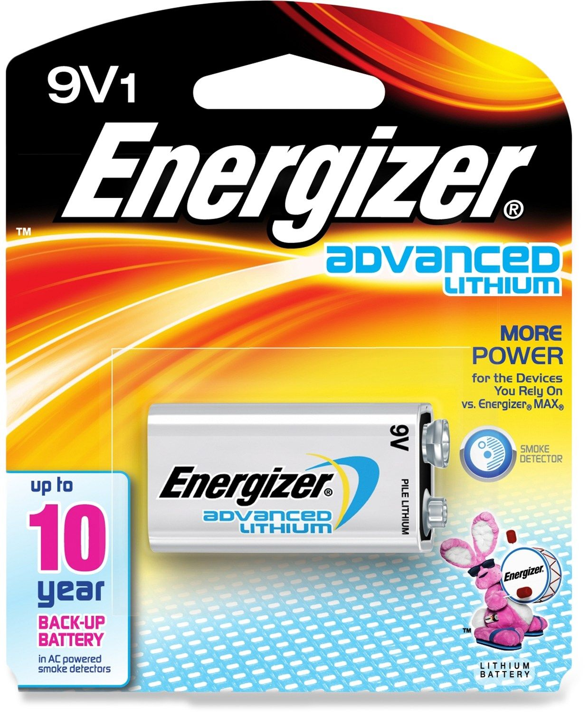 Energizer Advanced Lithium 9V Battery