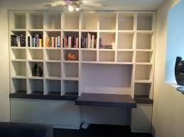 Afbeeldingsresultaat voor boekenkast op maat met bureau shelf