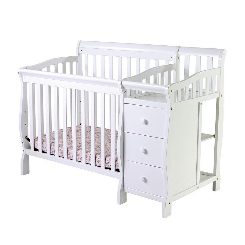 Merveilleux Dream On Me Jayden 4 In 1 Mini Convertible Crib U0026 Changer,